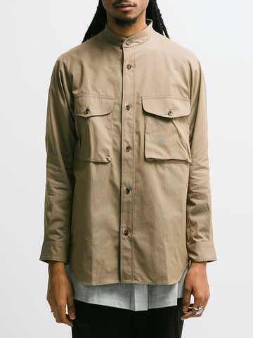 Haversack Iridescent Band Collar Shirt - GENTRY NYC - 1