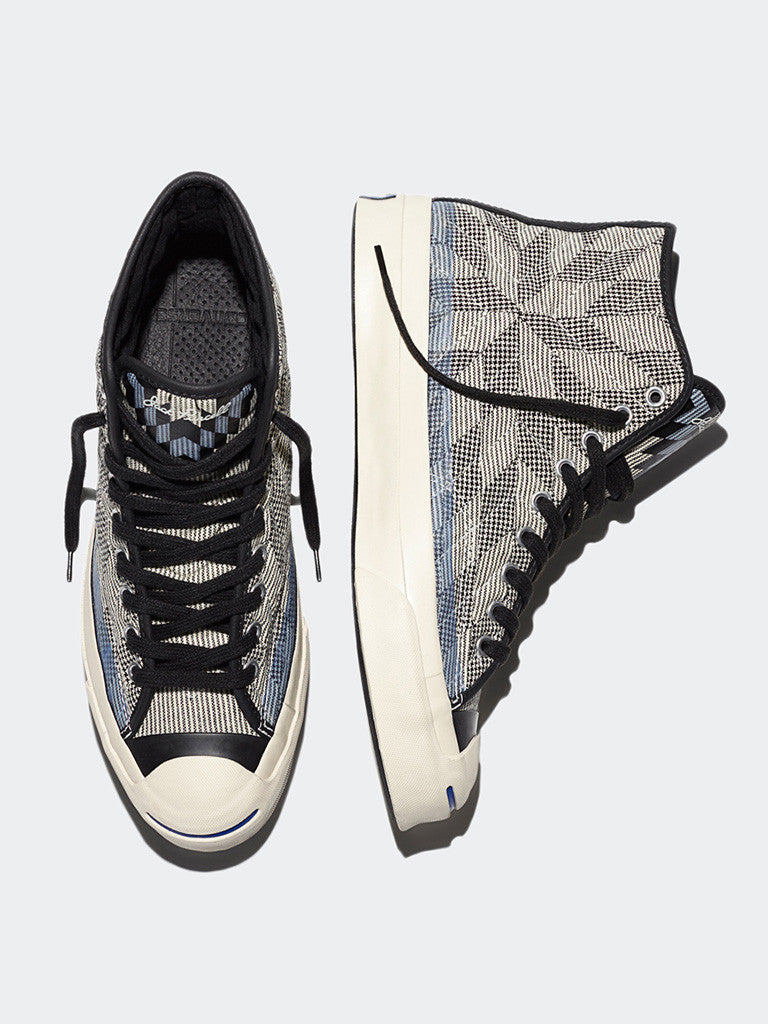 Converse Jack Purcell Signature Quilted High Top - GENTRY NYC - 5