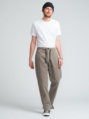 S.K. Manor Hill LOUNGE PANT-TAUPE - GENTRY NYC - 1