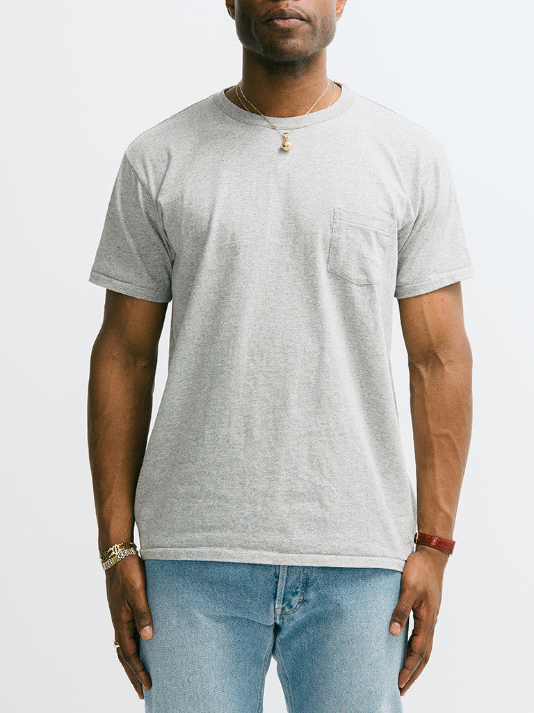 Velva Sheen 2 Pac Short Sleeve Pocket Crew Neck - GENTRY NYC - 6