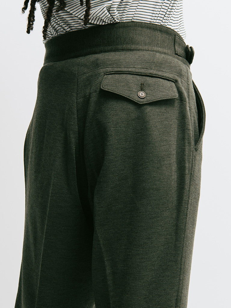 Haversack Double Belt Knit Pant - GENTRY NYC - 2
