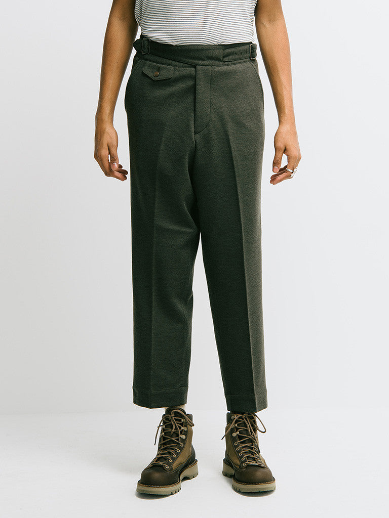 Haversack Double Belt Knit Pant - GENTRY NYC - 4