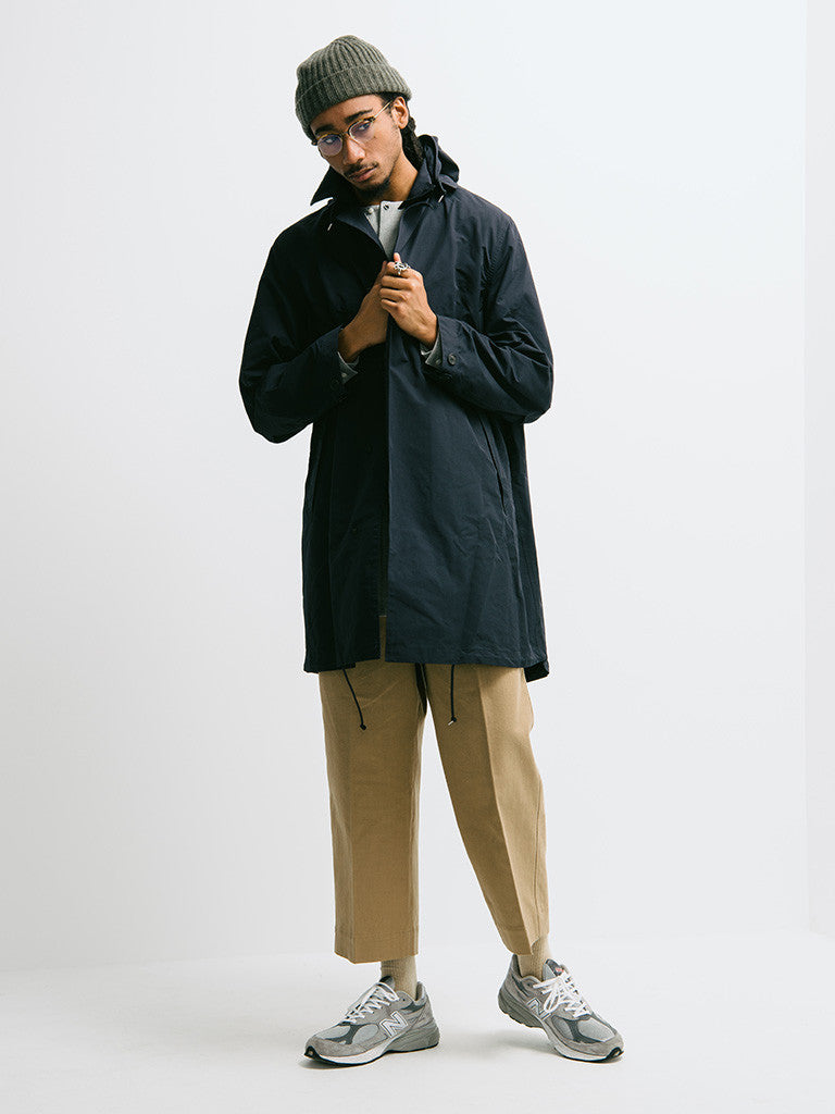 Haversack Hooded Raincoat - GENTRY NYC - 1