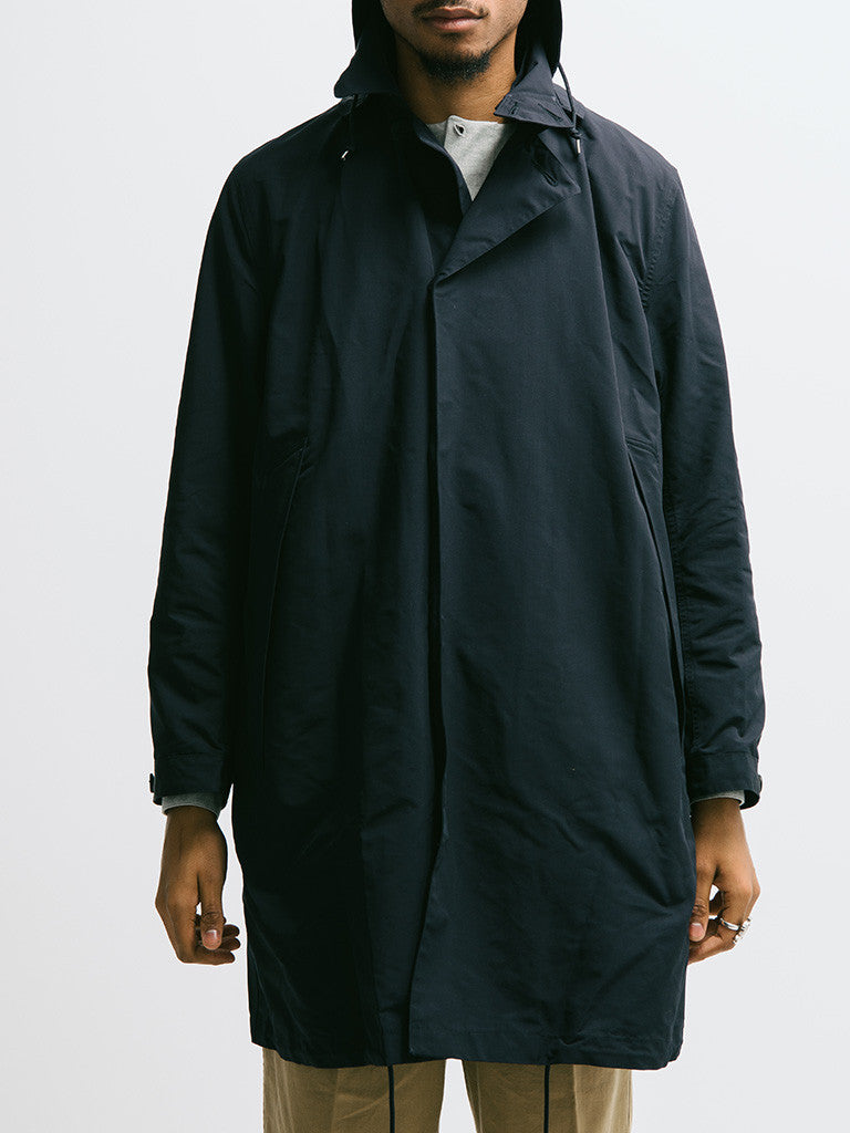 Haversack Hooded Raincoat - GENTRY NYC - 6