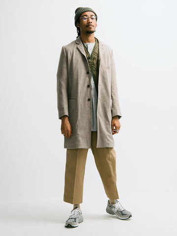 Haversack Three Quarter Length Coat - GENTRY NYC - 1