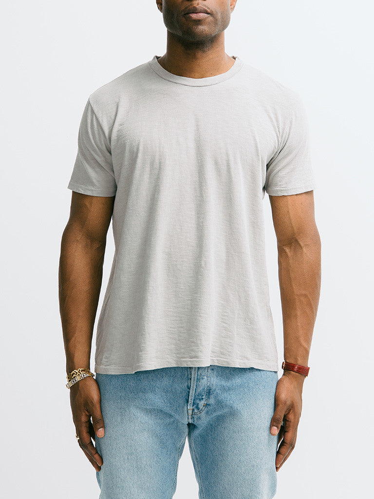Velva Sheen Rolled Short Sleeve Regular Tee - GENTRY NYC - 4