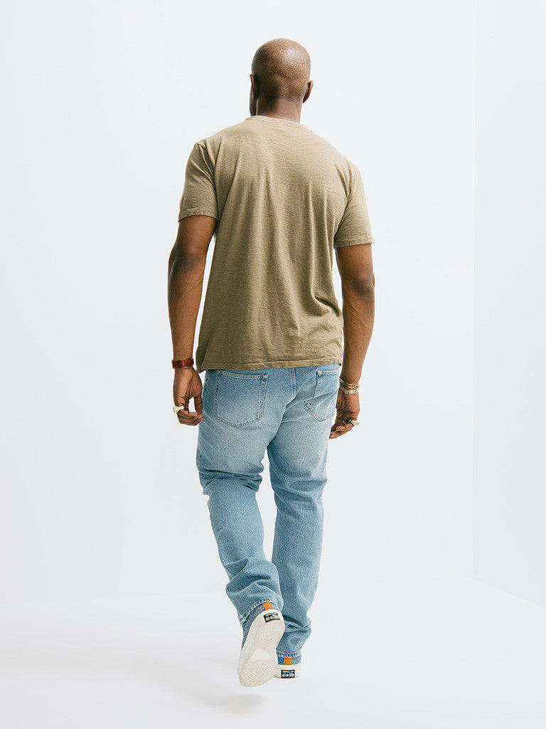 Velva Sheen Rolled Short Sleeve Regular Tee - GENTRY NYC - 5