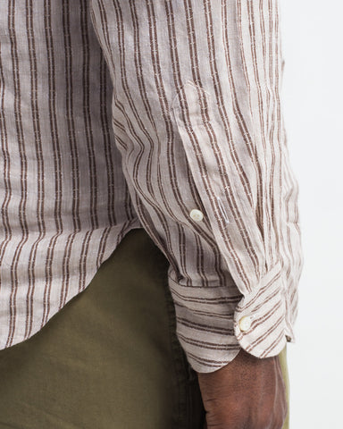 Double Stripe Popover Shirt