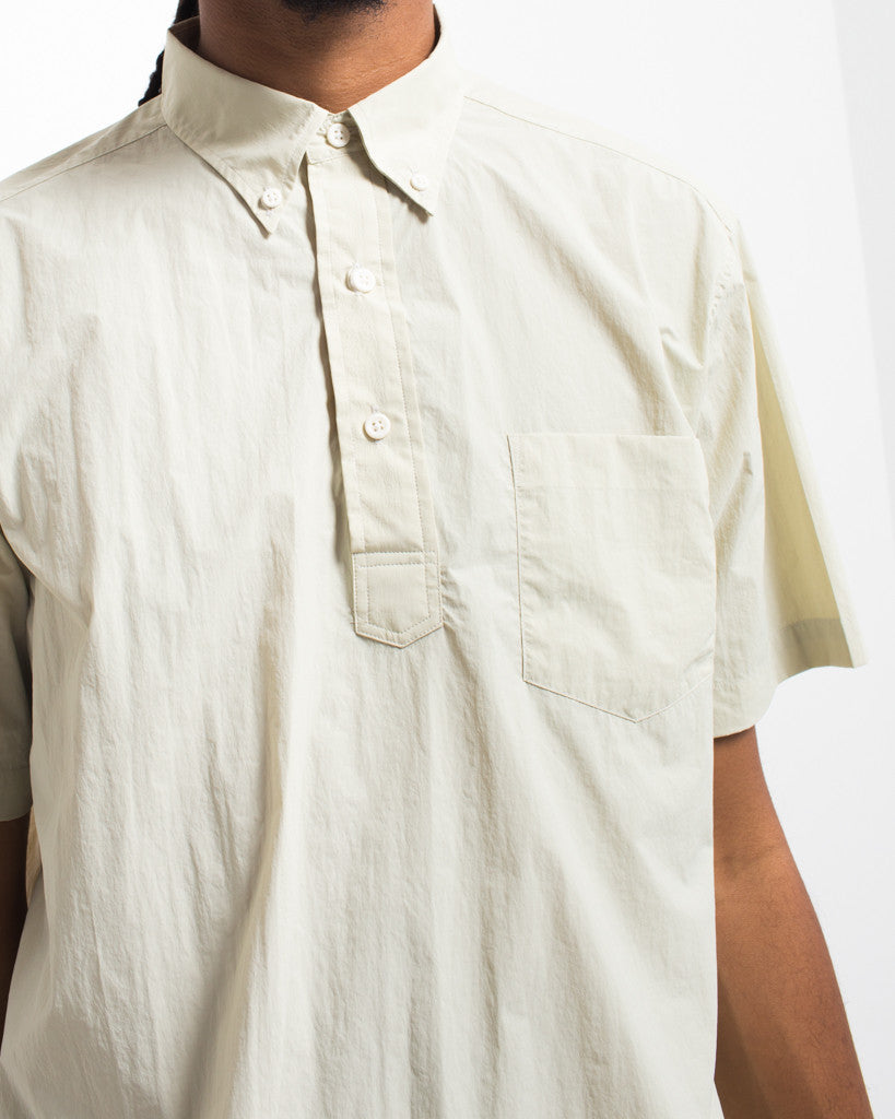 Short Sleeve Button Down Popover