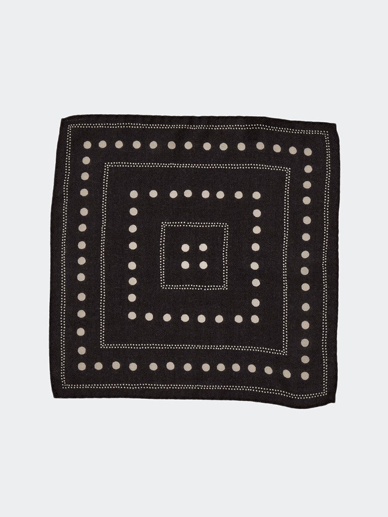 Alex Mill Dots Pocket Square - GENTRY NYC - 2
