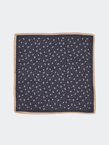 Alex Mill Scattered Paisley Pocket Square - GENTRY NYC - 1
