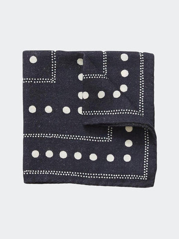 Alex Mill Dots Pocket Square - GENTRY NYC - 1
