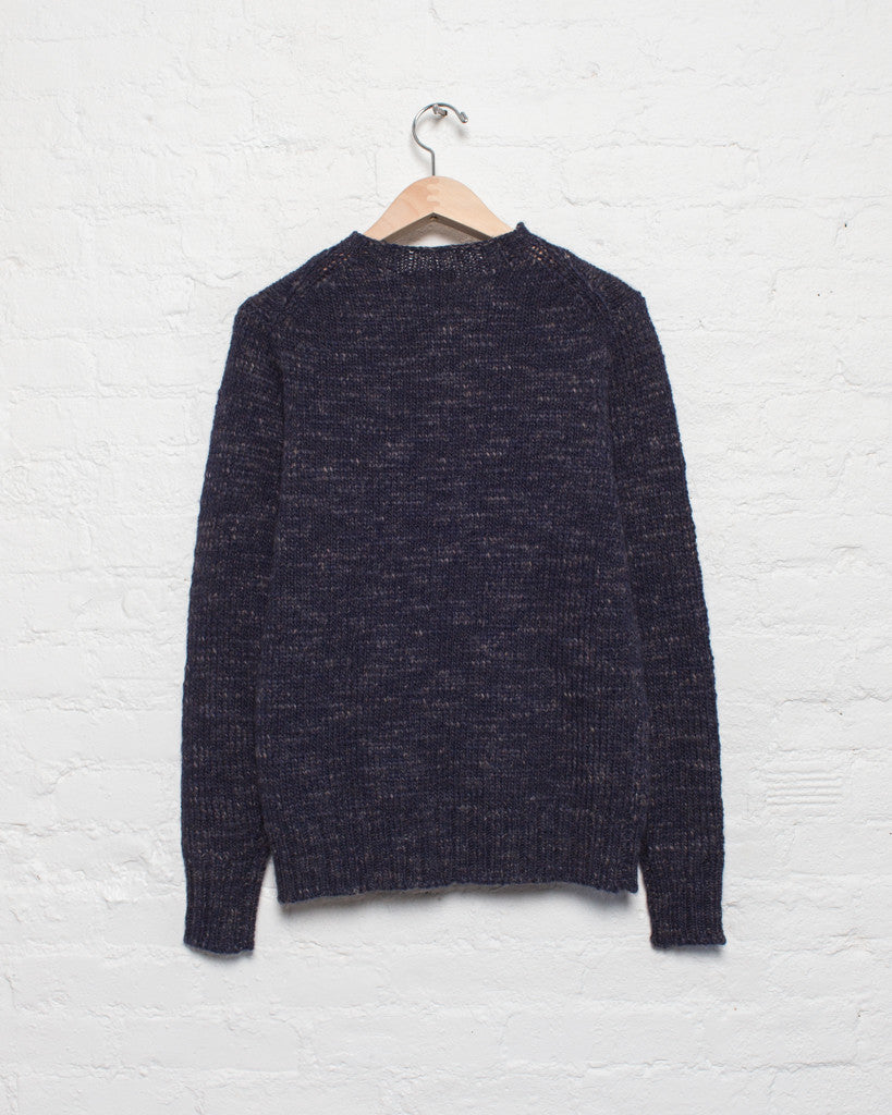 Macho Alpaca Blend Crew Sweater