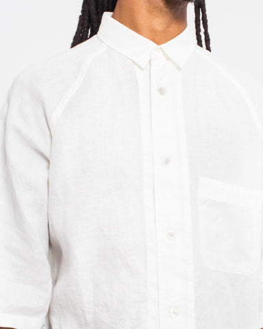 Linen Wide Sleeve Shirt