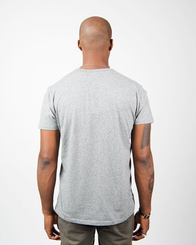 Crew Neck Tee Japanese Jersey - Grey
