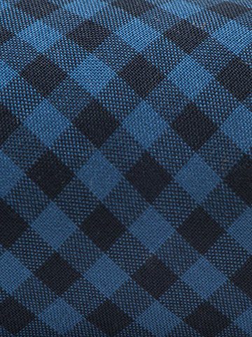 Nanamica CHECK TIE-NAVY - GENTRY NYC - 1