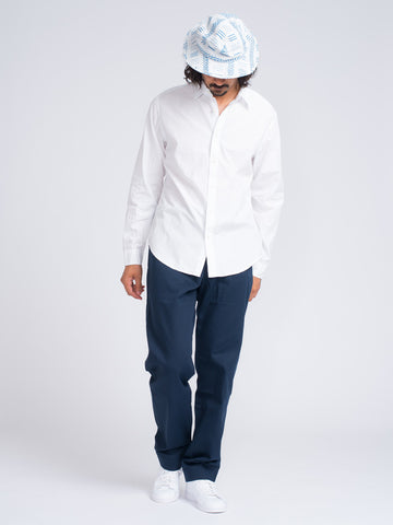 Alex Mill END ON END SCHOOL SHIRT - WHITE - GENTRY NYC - 1