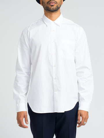 Our Legacy FIRST SHIRT-WHITE POPLIN - GENTRY NYC - 1
