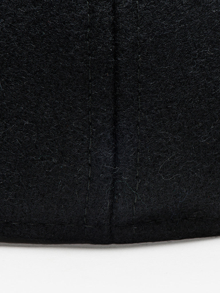paa FITTED PLEAT CAP - BLACK - GENTRY NYC - 4