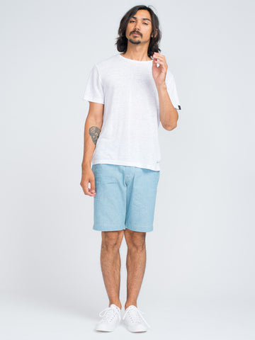Alex Mill CAMP SHORT - LIGHT INDIGO - GENTRY NYC - 1