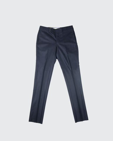 Paul Pants Loro Piana Flannel-Navy