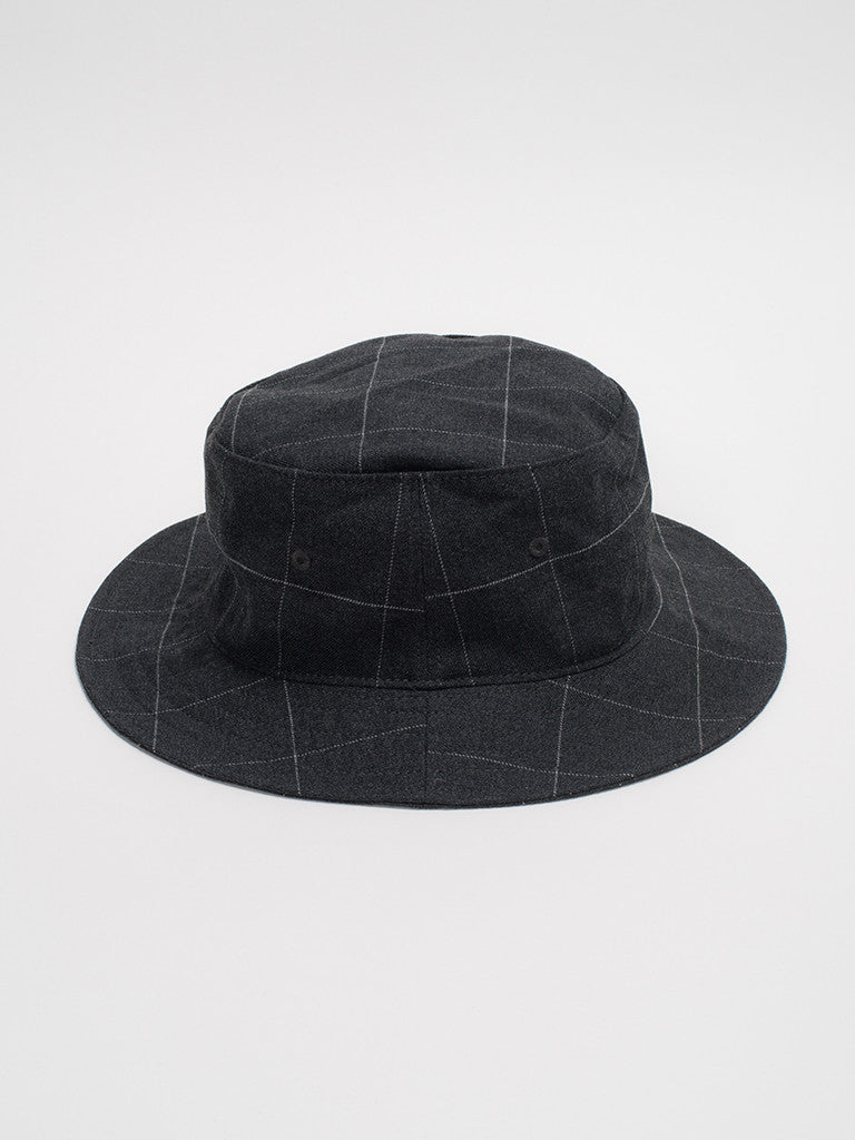 Nanamica WIND HAT-CHARCOAL - GENTRY NYC - 1