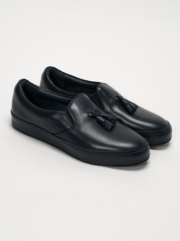 Hender Scheme DRESS SLIP ON-NAVY - GENTRY NYC - 1