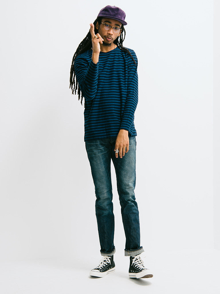 Eidos Breton Stripe Long Sleeve Tee - GENTRY NYC - 1