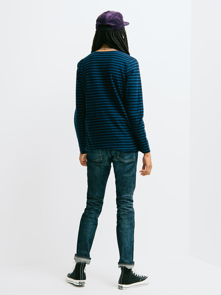 Eidos Breton Stripe Long Sleeve Tee - GENTRY NYC - 3