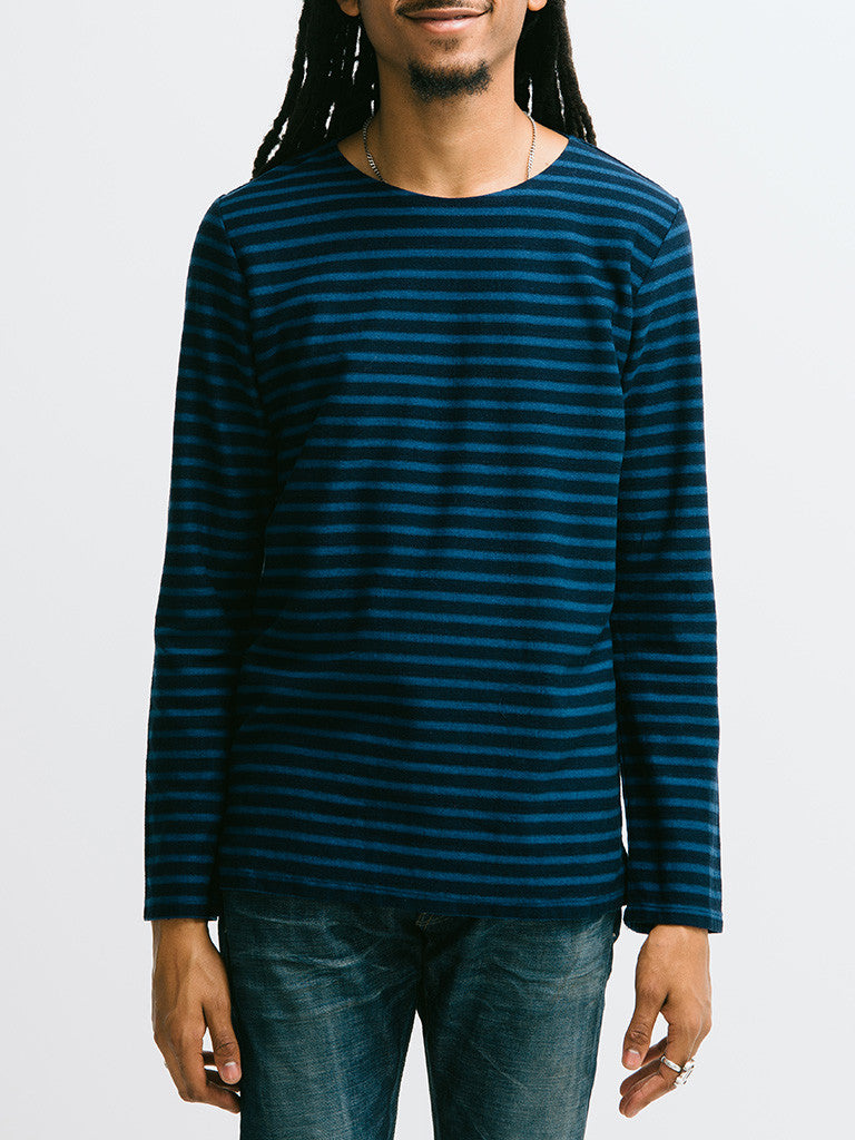 Eidos Breton Stripe Long Sleeve Tee - GENTRY NYC - 6