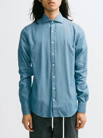 Gant Diamond G Luxe Denim Buttondown - GENTRY NYC - 1