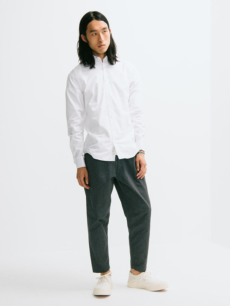 Gant Diamond G Luxe Solid Twill Buttondown - GENTRY NYC - 1