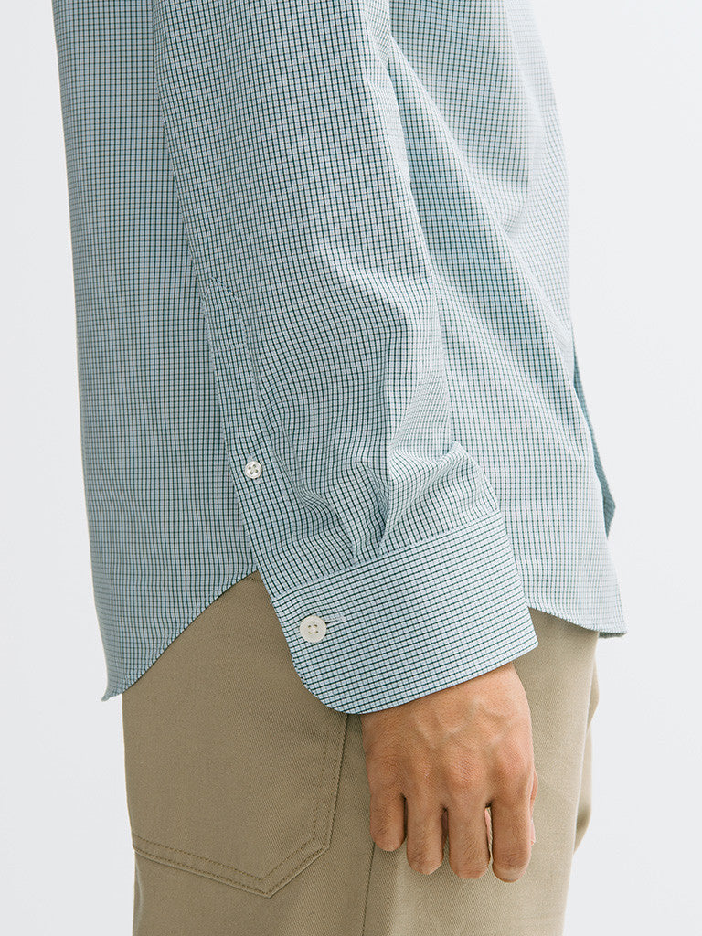 Gant Diamond G Mini Check Spread Collar Buttondown - GENTRY NYC - 5