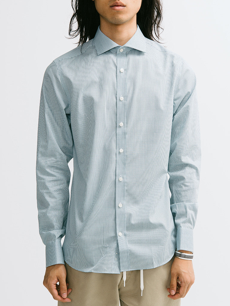 Gant Diamond G Mini Check Spread Collar Buttondown - GENTRY NYC - 6