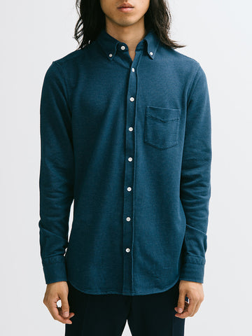 Gant Diamond G Pinhead Pique Buttondown - GENTRY NYC - 1