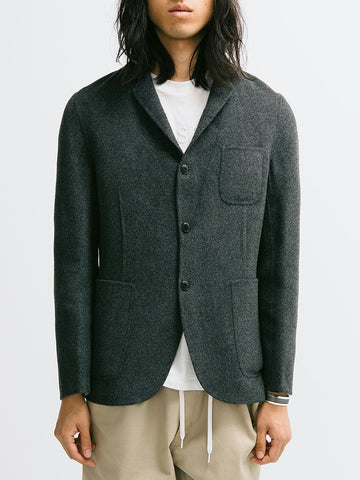 Gant Diamond G Wool Cashmere Cardigan Blazer - GENTRY NYC - 1