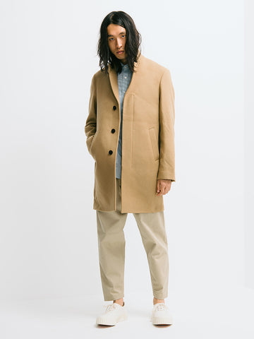 Gant Diamond G Wool Cashmere Coat - GENTRY NYC - 1