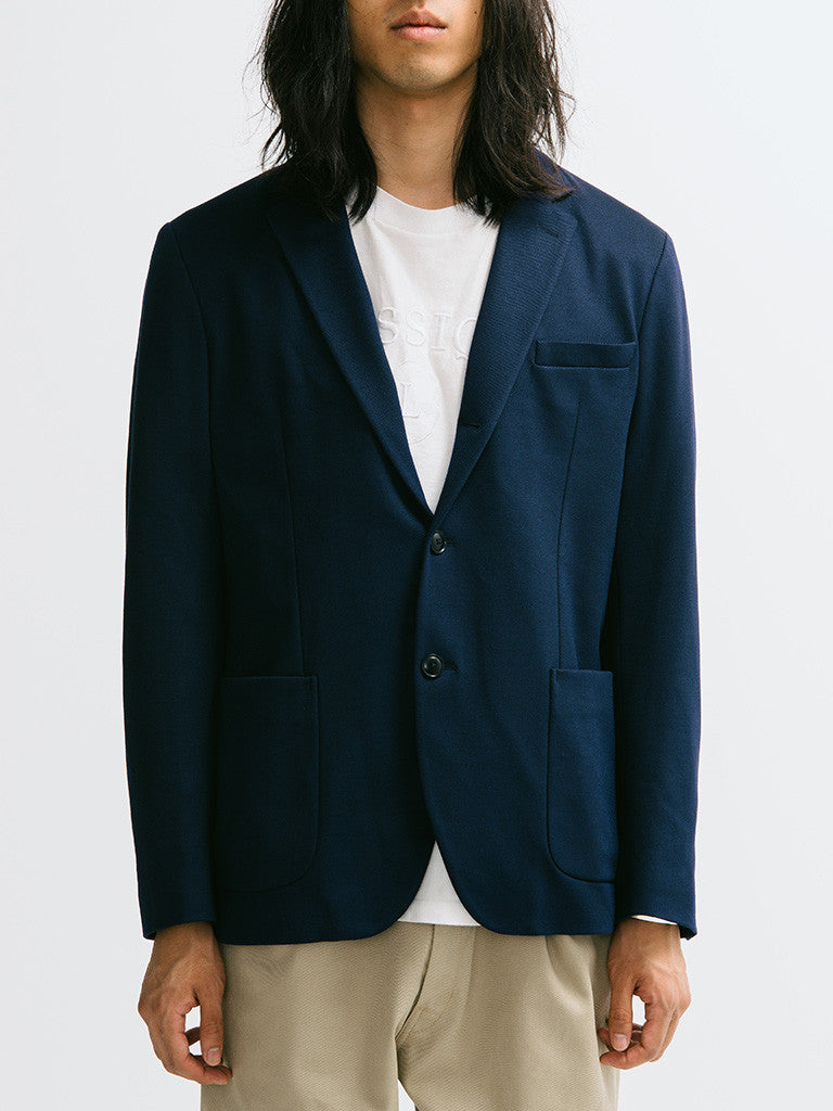 Gant Diamond G Jersey Travel Blazer - GENTRY NYC - 6