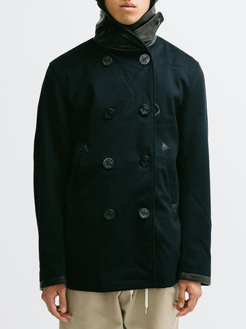 Golden Bear Loro Piana Wool Pea Coat - GENTRY NYC - 1