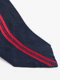 Jupe by Jackie TIE - SHERWOOD BORDER RED ON NAVY - GENTRY NYC - 2