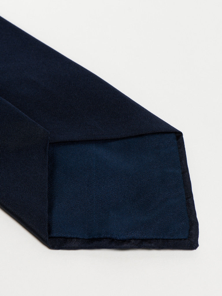 Jupe by Jackie TIE - SHERWOOD BORDER RED ON NAVY - GENTRY NYC - 4
