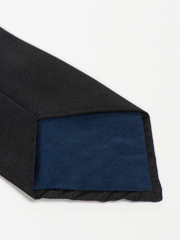 Jupe by Jackie TIE - SHERWOOD NAVY ON BLACK - GENTRY NYC - 1