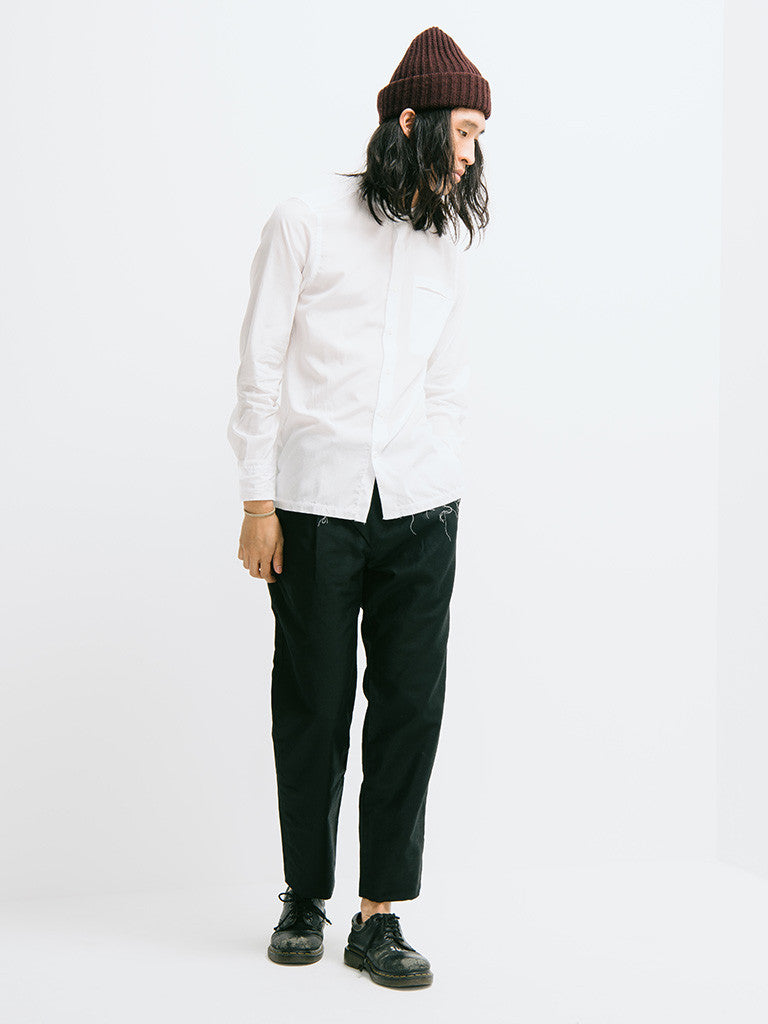 Ovadia & Sons Raw-Edge Broome Shirt - GENTRY NYC - 1