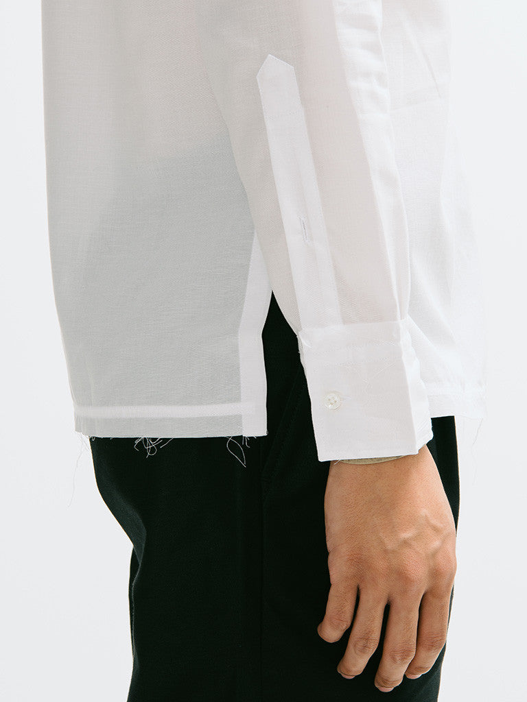 Ovadia & Sons Raw-Edge Broome Shirt - GENTRY NYC - 4
