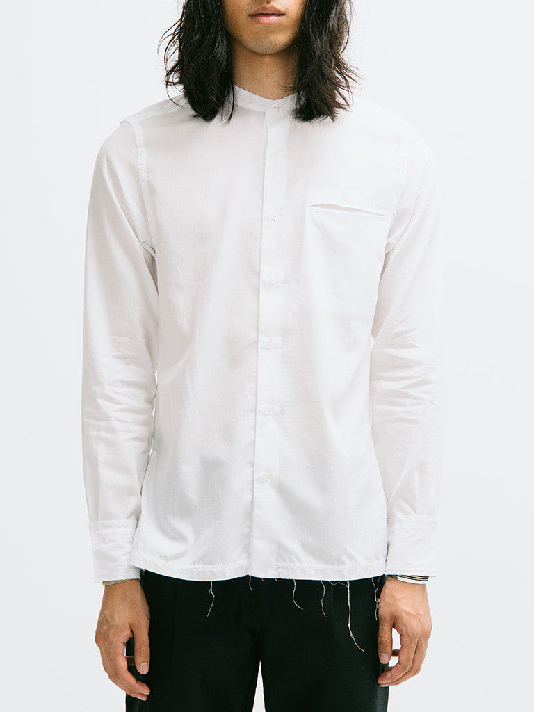 Raw-Edge Broome Shirt
