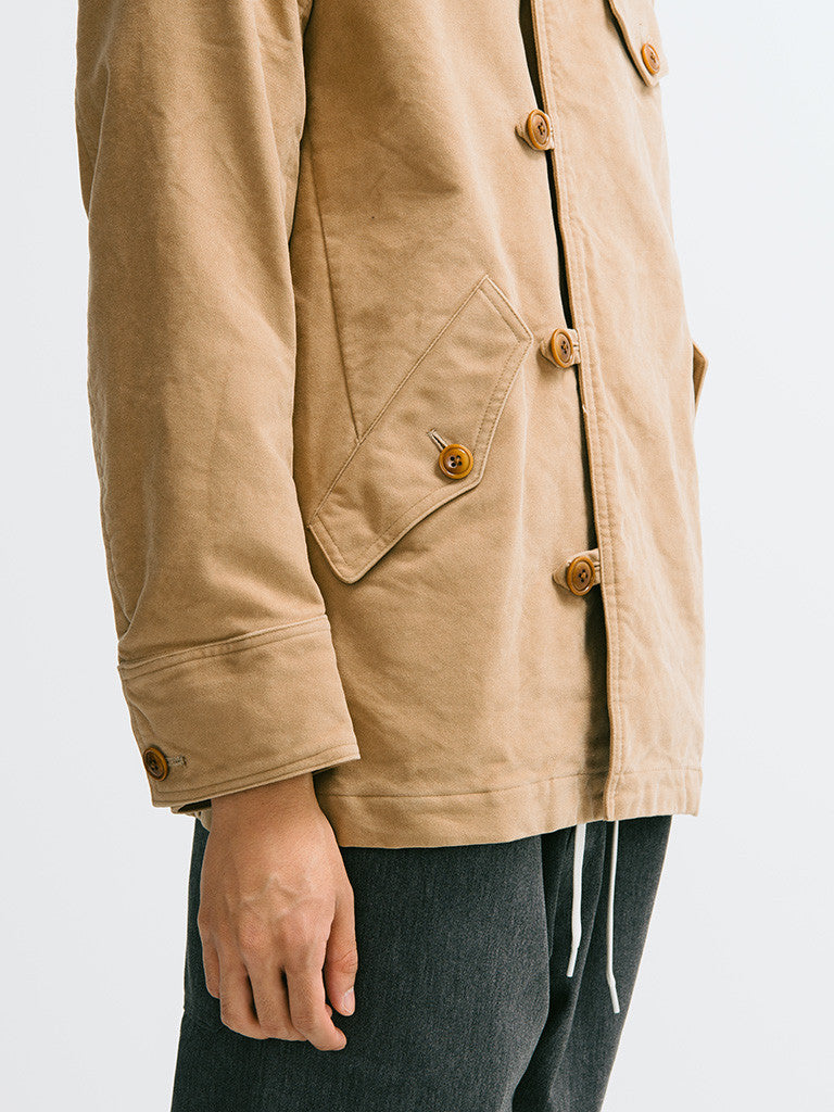 ts(s) Knit Collar Field Jacket - GENTRY NYC - 5