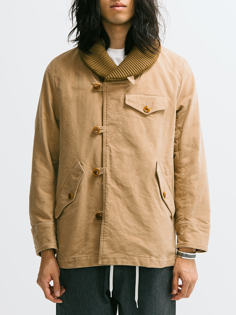 ts(s) Knit Collar Field Jacket - GENTRY NYC - 6