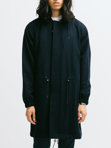 Tomorrowland Single Melton M51 Parka - GENTRY NYC - 1