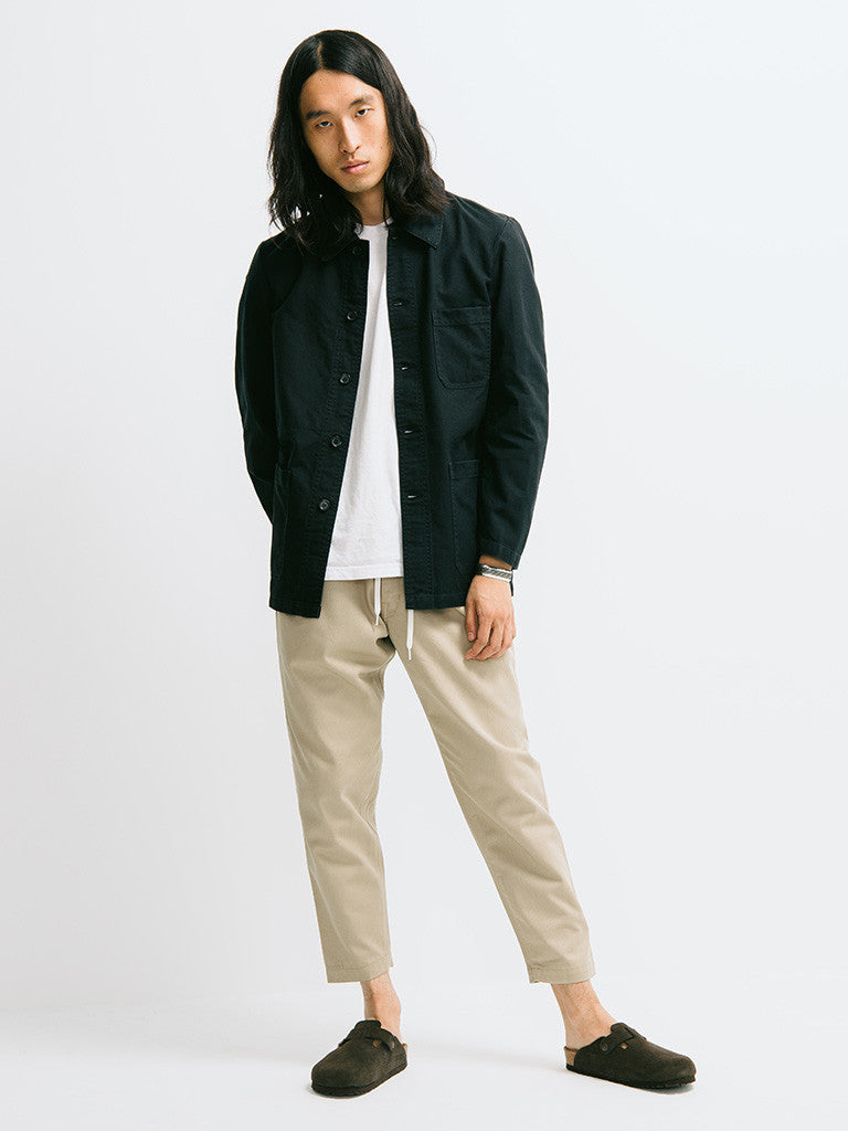 Vetra Cotton Twill Chore Coat - GENTRY NYC - 1