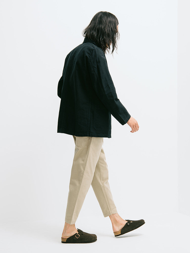 Vetra Cotton Twill Chore Coat - GENTRY NYC - 2